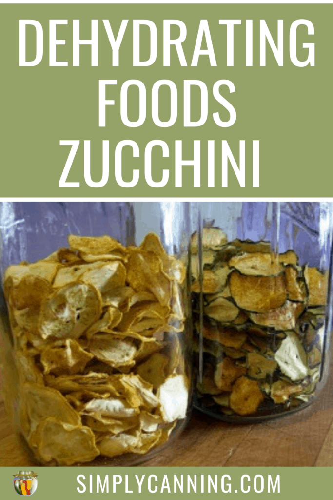 Dehydrating Foods Zucchini