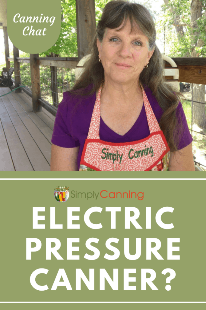 Electric Pressure Canner?
