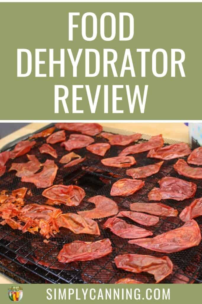 Food Dehydrator Review