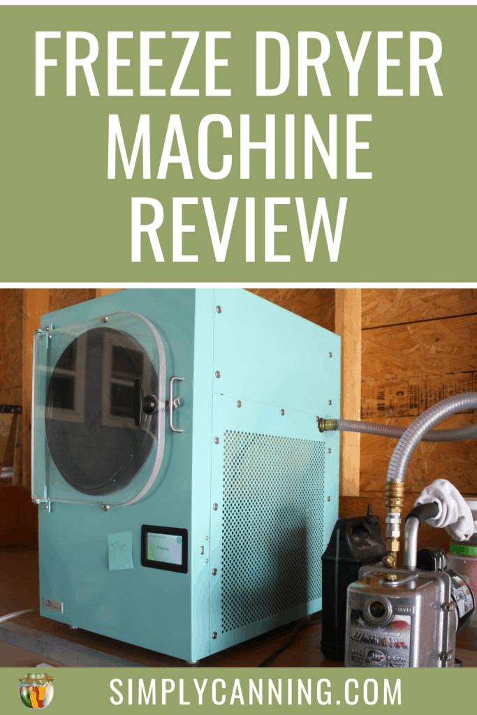 Freeze Dryer Machine Review