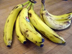 freezing bananas