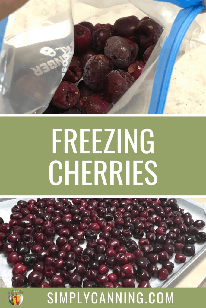 Freezing Cherries