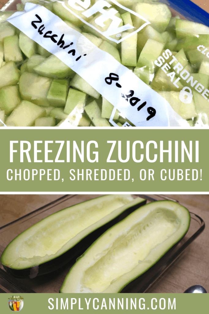 Freezing Zucchini