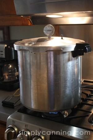 glass stove presto pressure canner