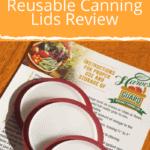 Harvest Guard Reusable Canning Lids pin