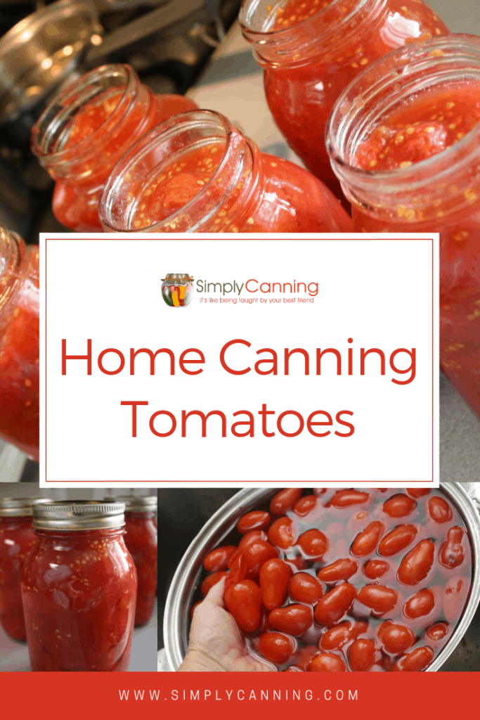 Home Canning Tomatoes