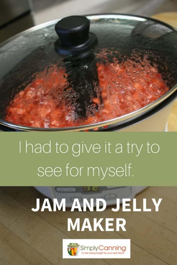jam jelly maker pin