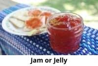 jar of sweet spread