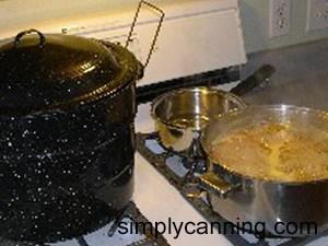 making orange marmalade