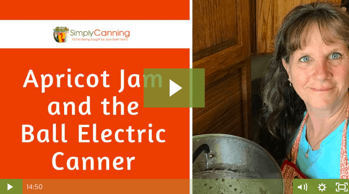 members apricot jam electric waterbath canner