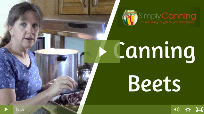 members canning beets