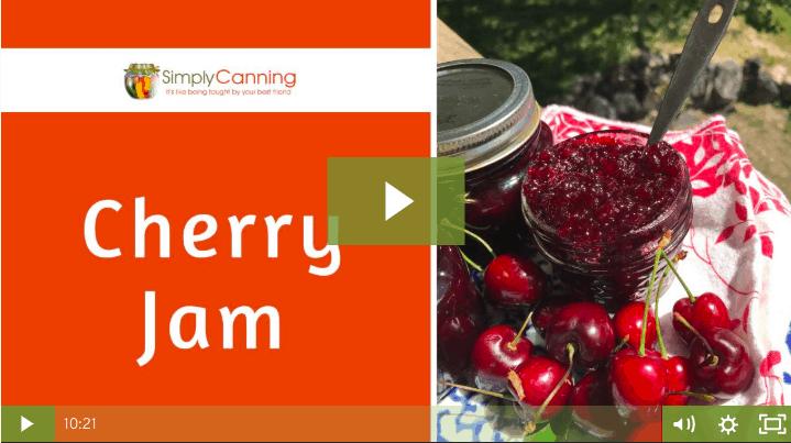 members cherry jam