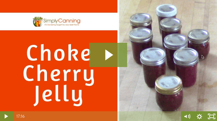 members choke cherry jelly