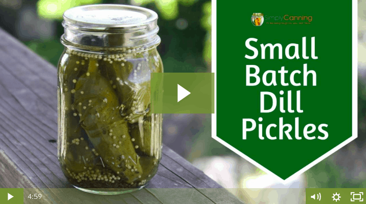 members small batch dill pickles