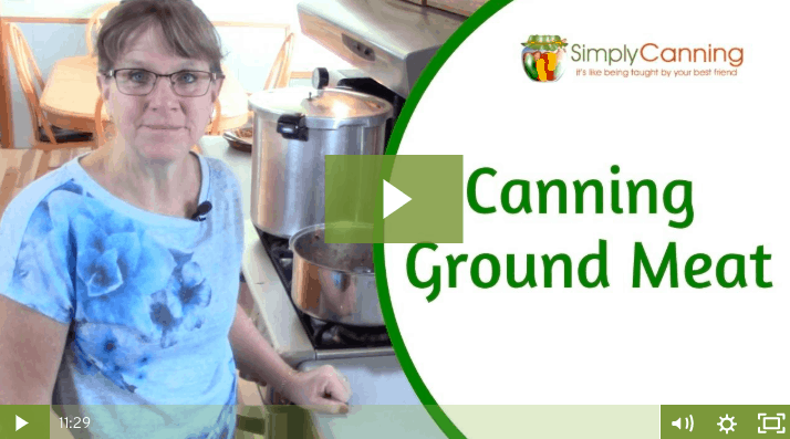 membership canning ground meat
