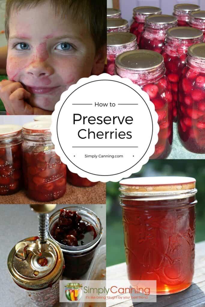 preserving cherries pin