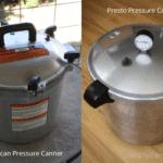 All American and Presto pressure canners