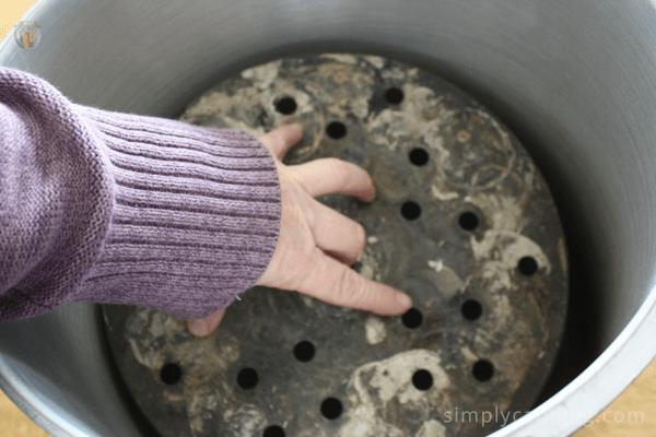 pressure canning rack