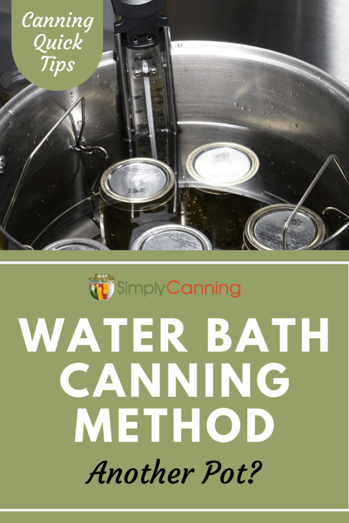 As a beginner, do you really need a pressure canner and water bath canner? Or can you just use your pressure canner as a water bath canner? Learn the answer at SimplyCanning.com