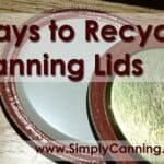 recycle canning lids