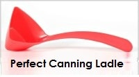 Perfect canning ladle.
