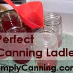 Perfect Canning Ladle