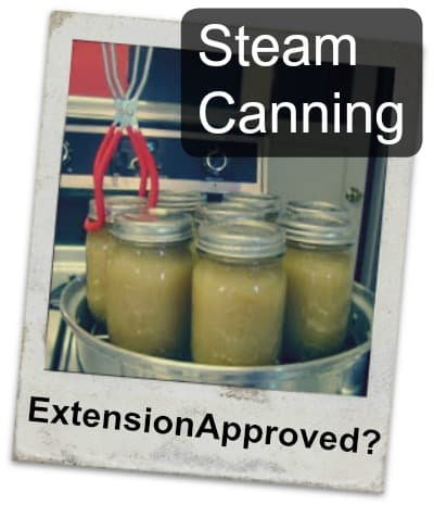 steam canning