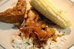 sun oven pork ribs dinner