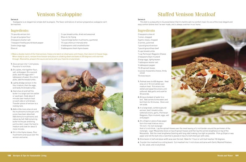 sustainable living book review scallopine meatloaf