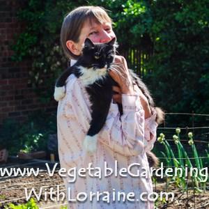 vegetable gardening with lorraine