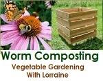 vegetablegardeningwithlorraine wormcompost