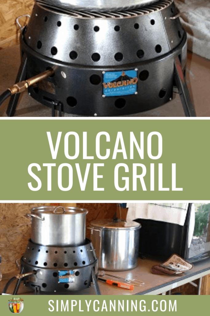 volcano stove grill