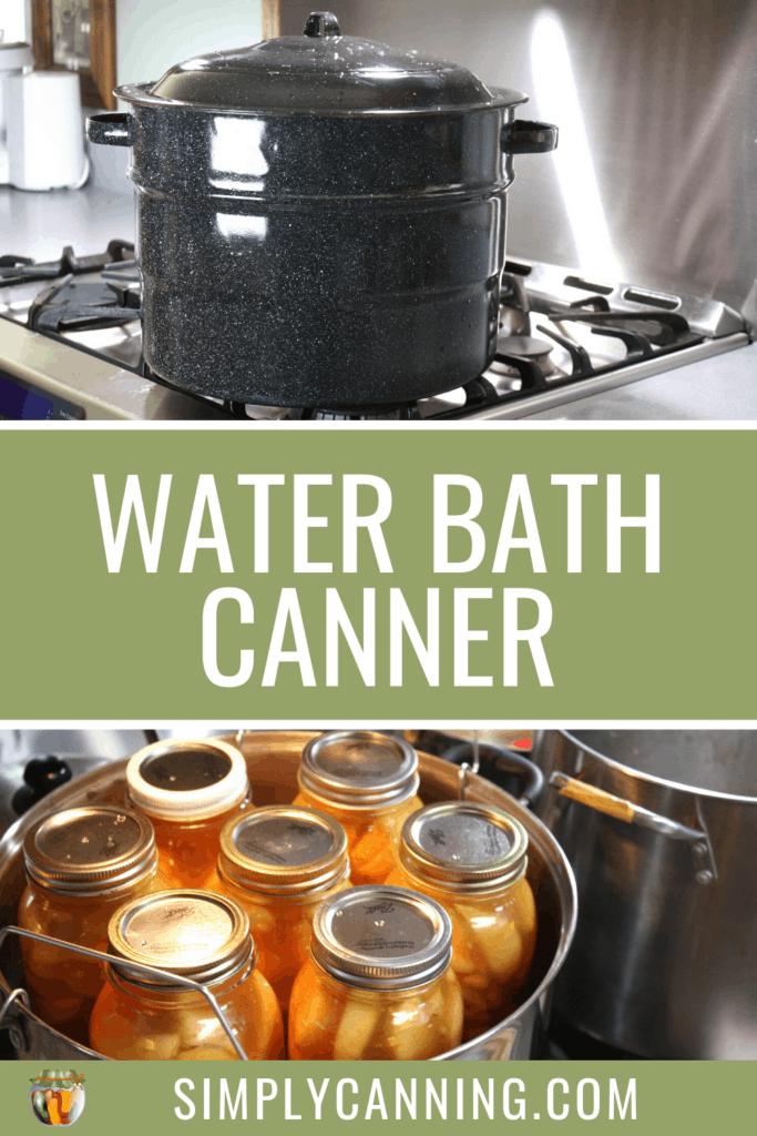 water bath canner pin