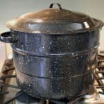 Black Speckled waterbath canner