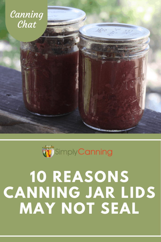 What causes jars to not seal? It's frustrating when you realize a jar didn't seal properly. This series is all about figuring out what might be the problem.