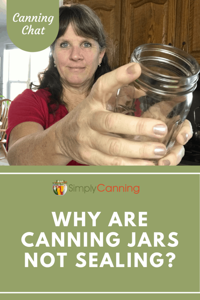 """Ever asked yourself, """"Why are my canning jars not sealing?"""" One possibility is that you have issues with your canning jars."""